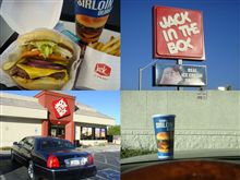 ■ハンバーガー:JACK IN THE BOX