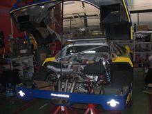 F40エンジン始動