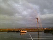 綺麗な虹が!!
