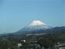 時速280kmで、富士山撮影♪