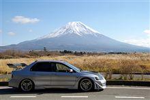 積雪富士山
