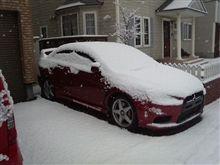 2009年11月21日今シーズン初積雪!