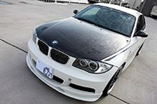 BMW E82 87用 カーボンボンネット 新発売!