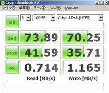 Cドライブ HDD→SSD計画