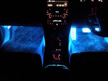 車内の青色化、完成♪