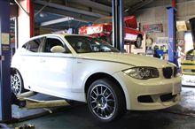 BMW E87 ATF交換!