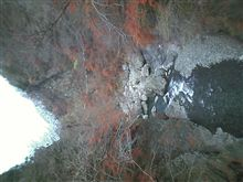 大滝の紅葉、終盤へ