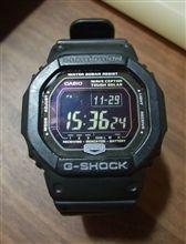 久々のG-SHOCK(GW-5600BJ-1JF)