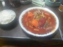 晩飯つくりました!