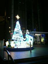 JR新宿ビルのツリー