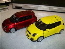スイスポのモデルカー