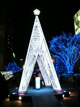 新宿サザンテラスのツリー