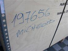 ミケロットから部品が届きました。