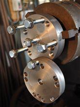 ブレーキローター研磨用の治具製作