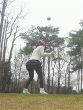 今日も楽しいパンチラゴルフ