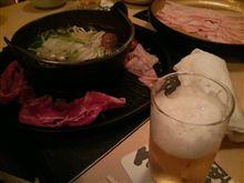祇園で焼き肉&しゃぶしゃぶ