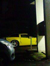 黄色いコルベット