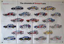 【ポスター】The chronicle of Group A cars