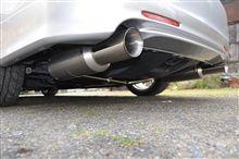 無限 Sports Exhaust System装着^^