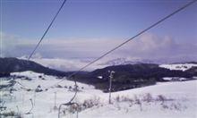 雲の上のスキー場(今シーズン②回目)