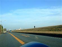 年末の朝は、多摩川ドライブ&コメダ