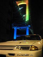 GT‐R+レインボーブリッジ