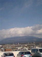 大晦日の暴風の富士山( ̄□ ̄;)!!