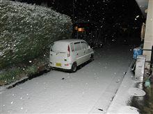 雪の年越し