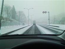 雪で終わる2009年