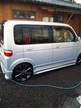 洗車しますた(^O^)