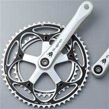 いまどきの自転車パーツ:クランク