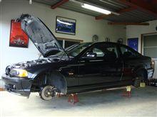 ◆車磨き中~
