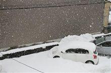 金沢も大雪!