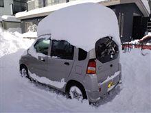 (*´д`*) 久々のドカ雪