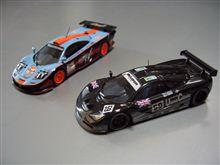 マクラーレン F1 GTRレーシング ミニカーコレクション