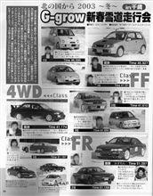 2003年1月3日過去の栄光!?(新春雪上走行会編)