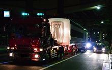 深夜三つ目通りを走る京成スカイライナー!