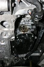 デフオイル用キャッチタンク:汚れません、汚しません。