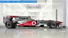 F1 マクラーレン新車発表!