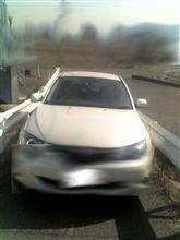 車に激突(事故)されました(怒)・・・救急で病院に!!(@_@;)