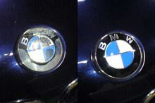 BMWエンブレム修復