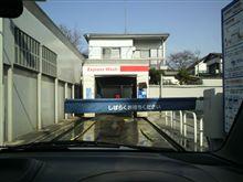 ワゴンR洗車・・・