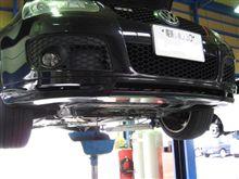 メンテナンスは大事...VW ゴルフⅤ GTI..オイル交換..MOTUL H-TEC