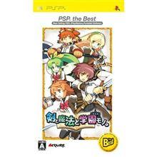 剣と魔法と学園もの(PSP)で遊ぶ