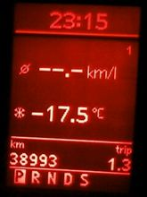 いくら何でも寒すぎる(|||_|||)