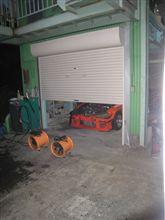 ファイターのガレージで熊カプ発見、、、冬眠中、、、? (前編)