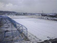 今年2回目の雪