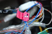 カーナビでラジオのパワーアンテナ配線忘れてた SXE10アルテッツァ