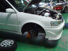 カローラGTの修理(エンジン換装)完了予定。