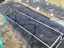 ビニールトンネル用 散水器の試作
